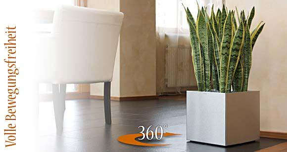 blumentopf rollen wohnzimmer. Black Bedroom Furniture Sets. Home Design Ideas