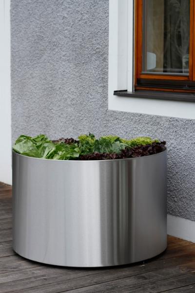 edelstahl blumenk bel mit 95cm durchmesser. Black Bedroom Furniture Sets. Home Design Ideas