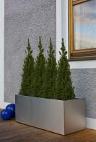 Edelstahl Blumenkasten 95x40cm, H=40cm